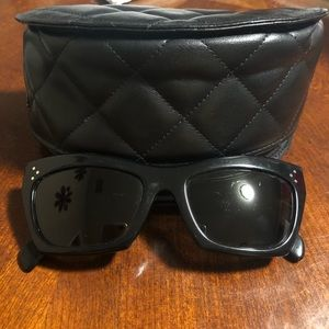 Black Céline cateye sunglasses